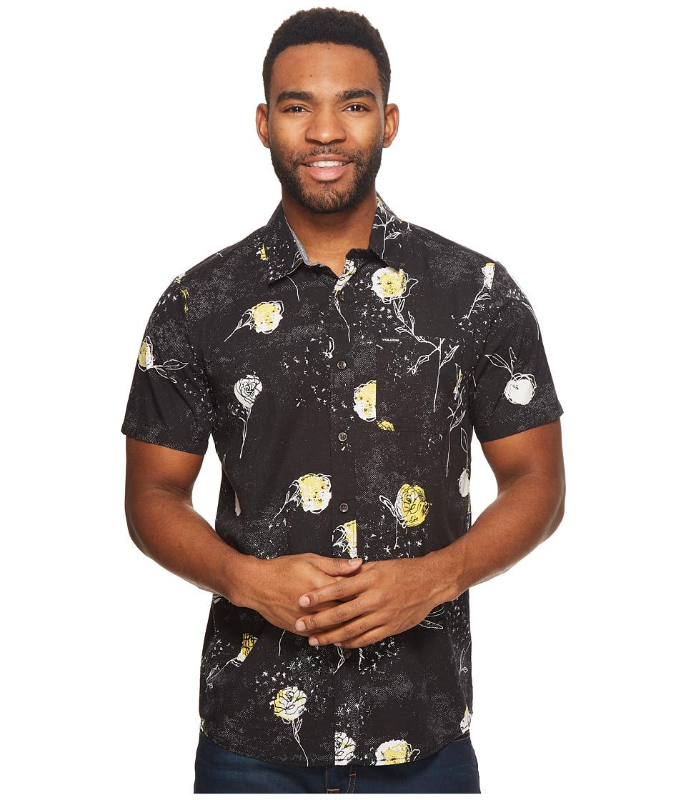 Volcom Jaded Wilted Short Sleeve (Black) Men's Clothing