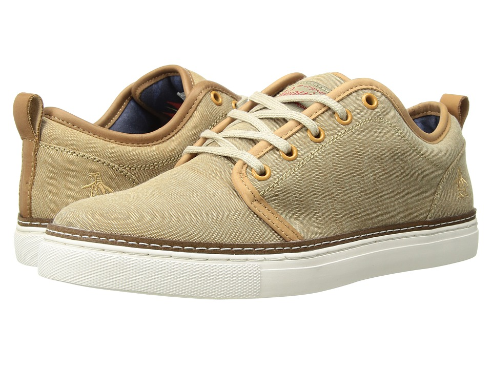 Original Penguin - Carlin (Sand Chambray) Mens Lace up casual Shoes