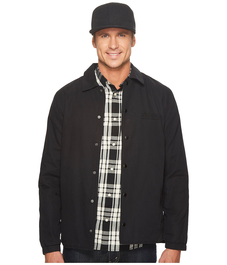 Volcom Along The Way Jacket (Black) Men