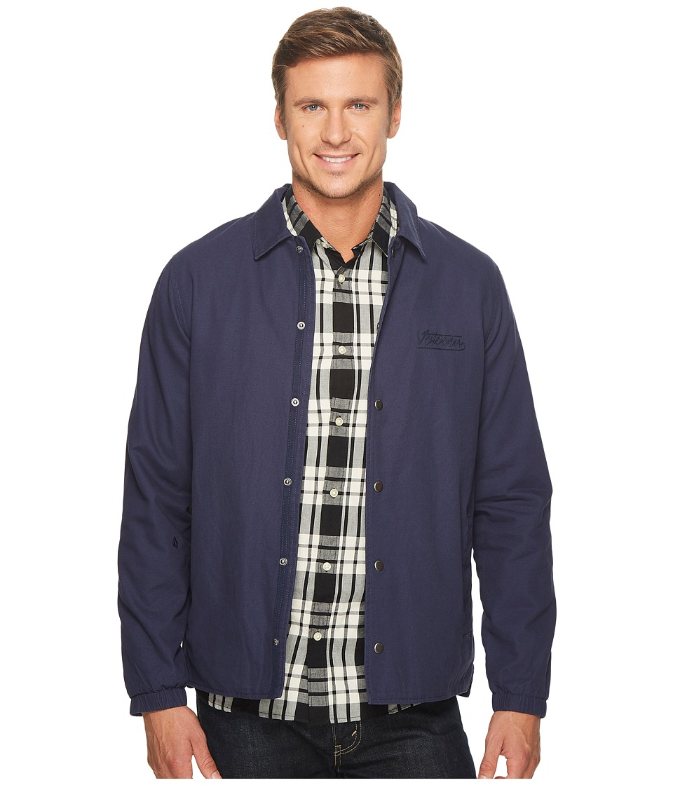 Volcom Along The Way Jacket (Indigo) Men