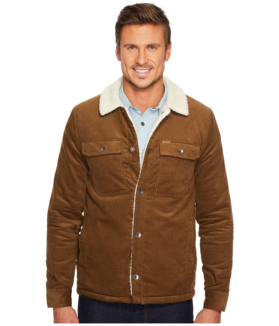 Volcom Keaton Jacket (Mud) Men
