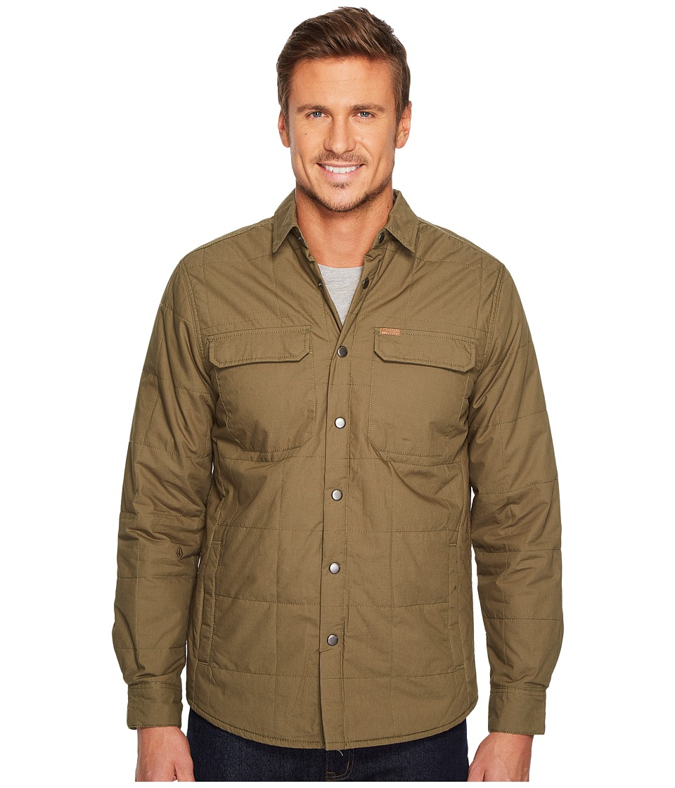 Volcom Larkin Quilted Jacket (Military) Men