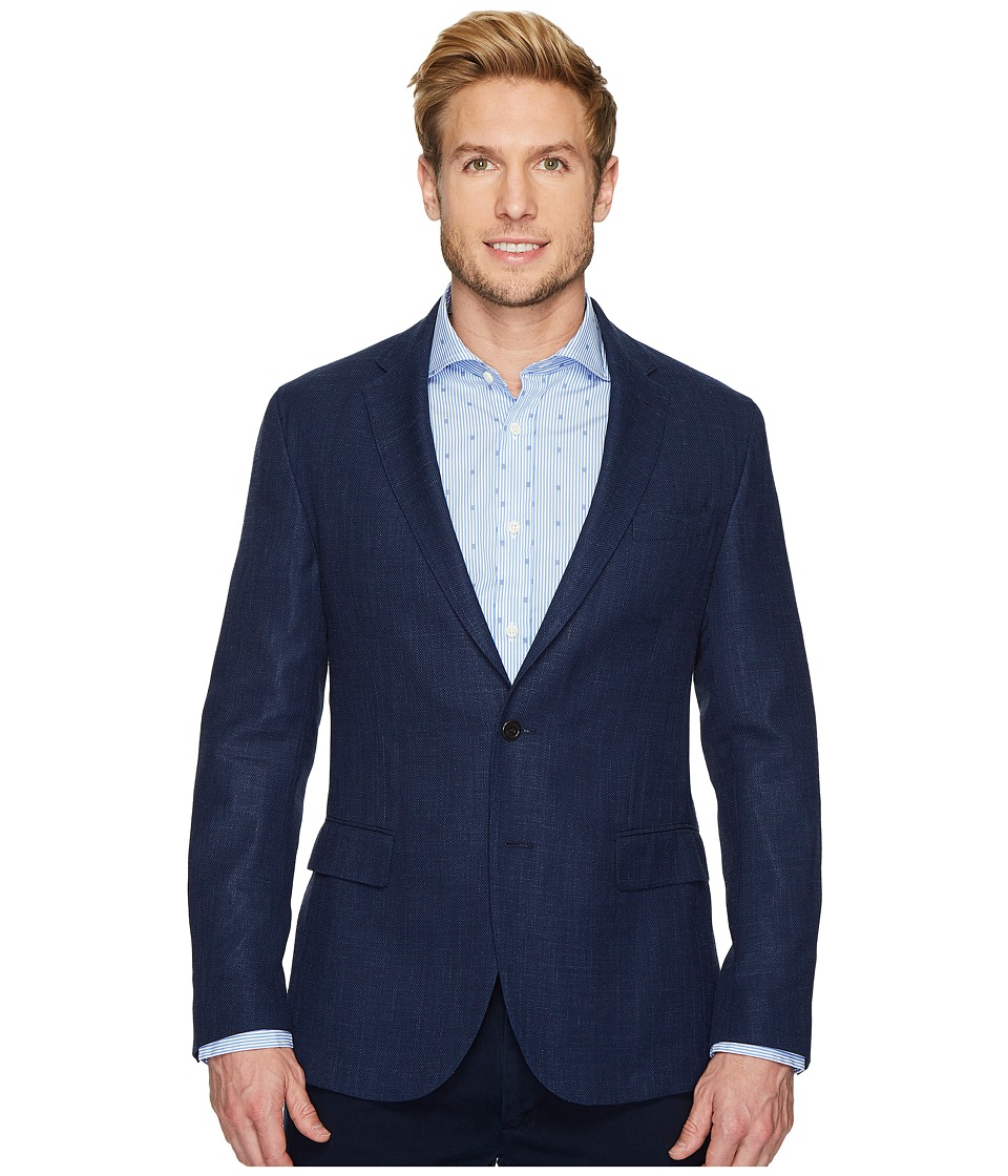Ralph Lauren Collins Wool-Blend Sport Coat (Navy) Men's J...