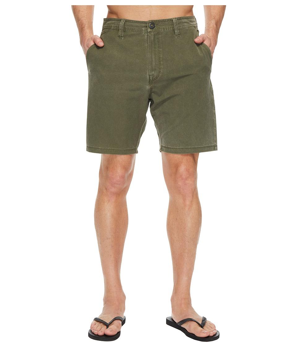 Volcom SNT Faded Hybrid Shorts (Military) Men