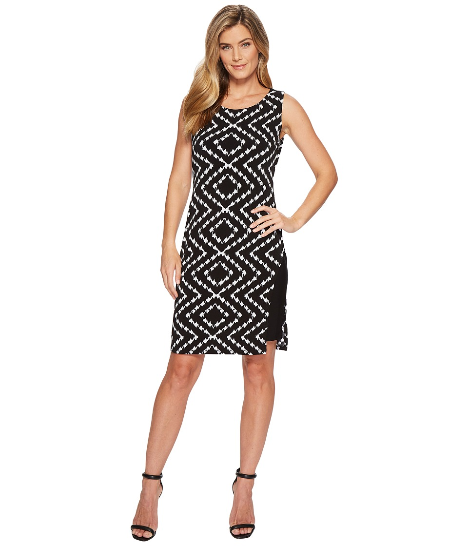 Tribal Pack and Go Travel Jersey Printed Sleeveless Dress with Inside Contrast Slip (Night) Women