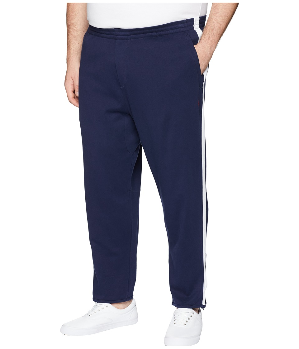 Polo Ralph Lauren - Big Tall Interlock Jogger Pants (Cruise Navy) Mens Casual Pants
