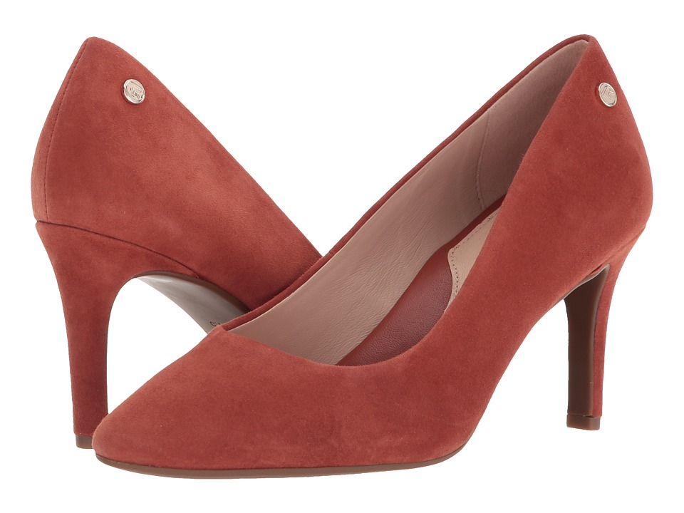 Taryn Rose - Tamara (Terracotta Silky Suede) Womens Shoes