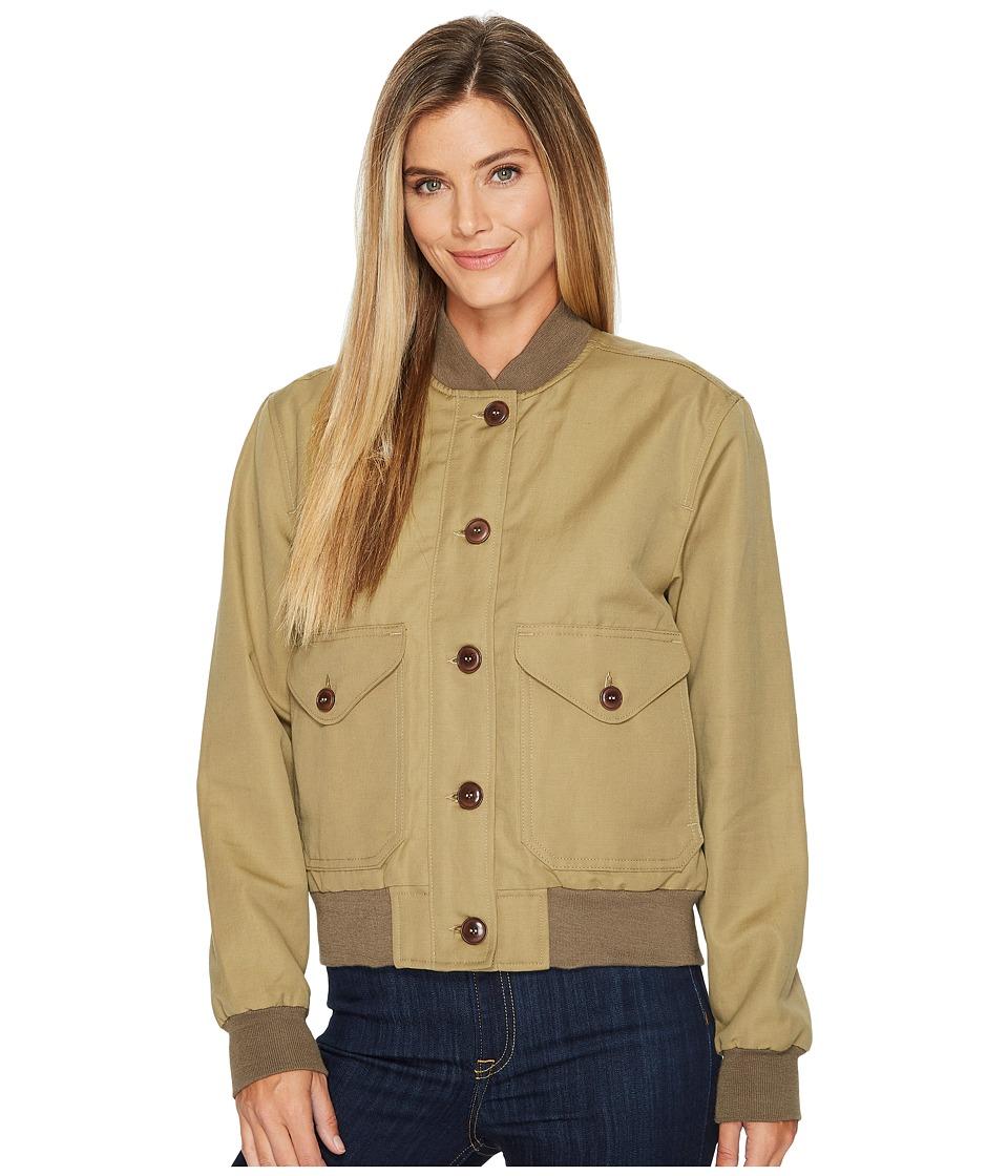 Filson Libby Bomber Jacket (Field Green) Women's Coat
