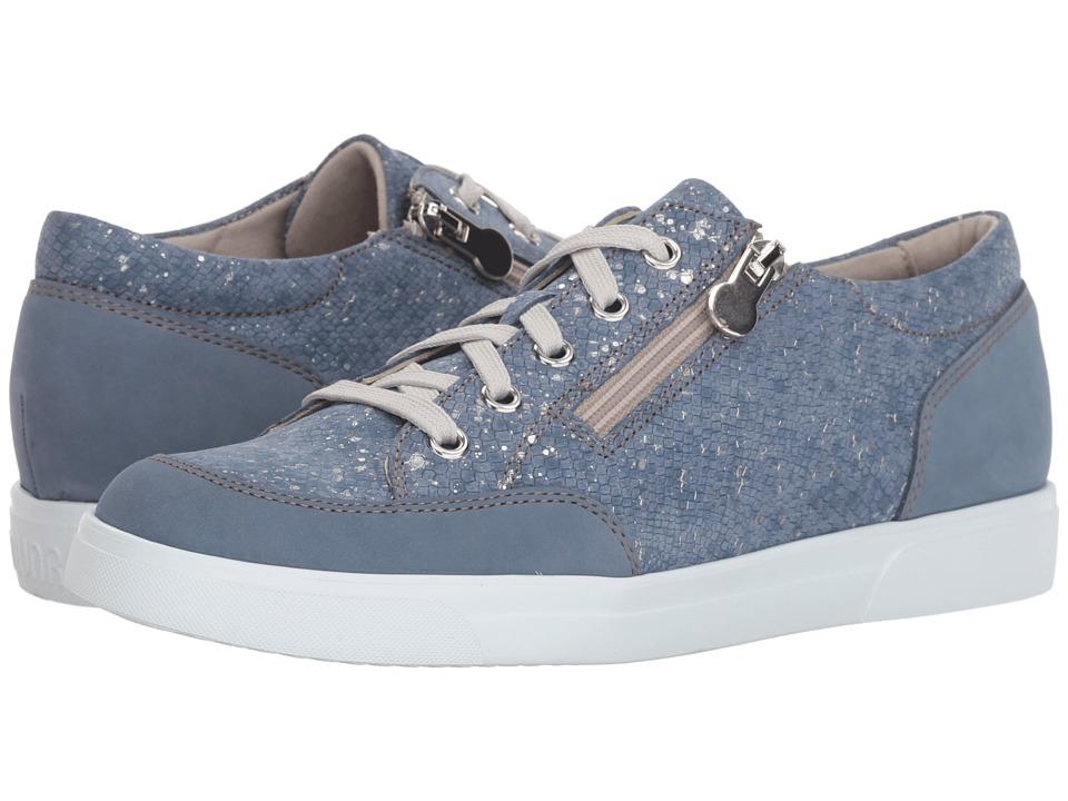 Munro Gabbie (Denim Metallic Print) Women's Shoes