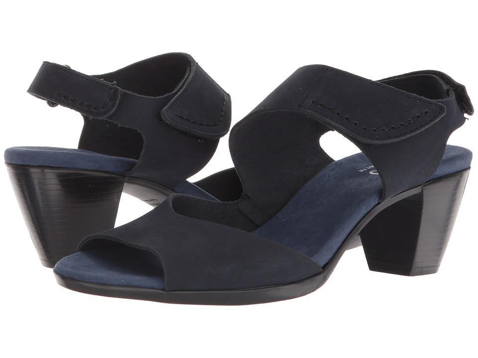 Munro Fabiana (Marine Blue Nubuck) Sandals