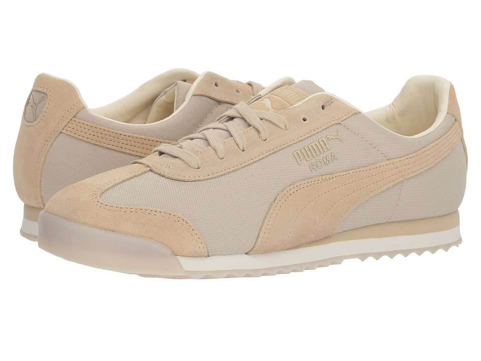 PUMA - Roma Summer (Pebble/Whisper White) Mens Lace up casual Shoes