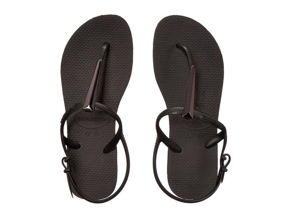 Havaianas - Freedom SL Maxi Flip-Flops (Black) Women's Sandals
