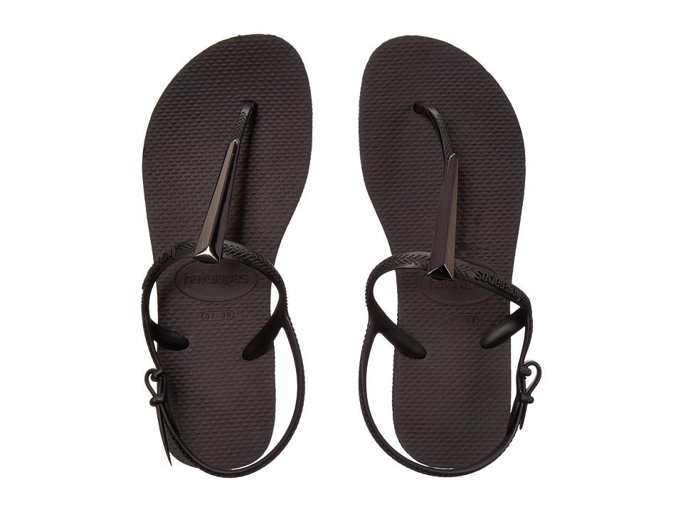 Havaianas - Freedom SL Maxi Flip-Flops (Black) Womens Sandals