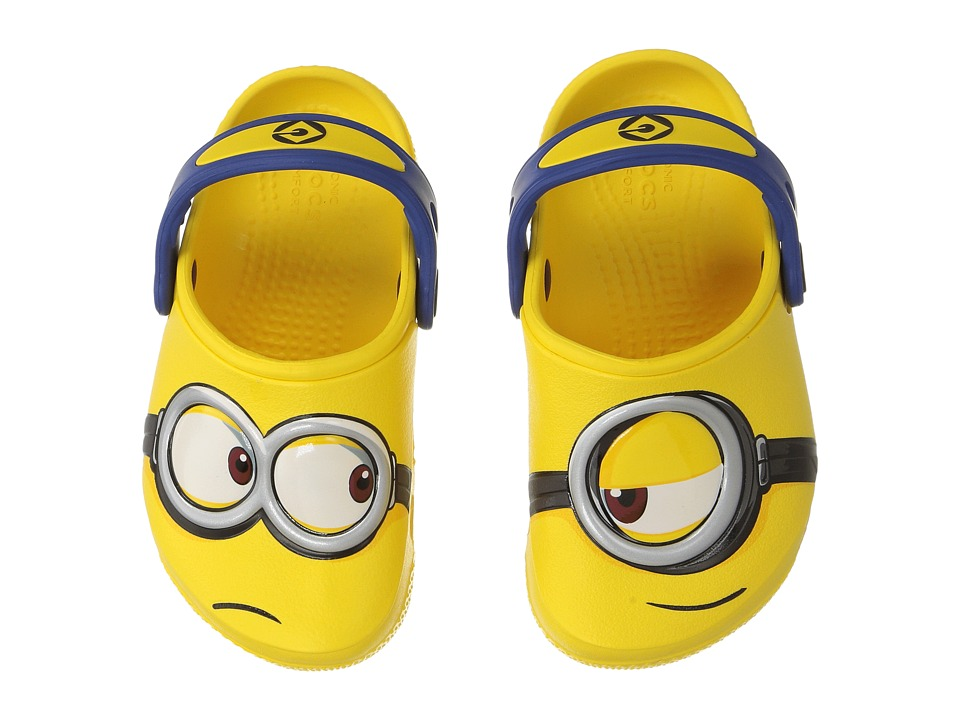 Crocs Kids - CrocsFunLab Minions Clog (Toddler/Little Kid) (Yellow) Kids Shoes