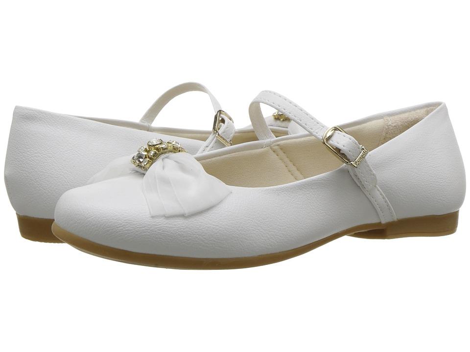 Pampili - 10333 (Toddler/Little Kid/Big Kid) (White) Girls Shoes