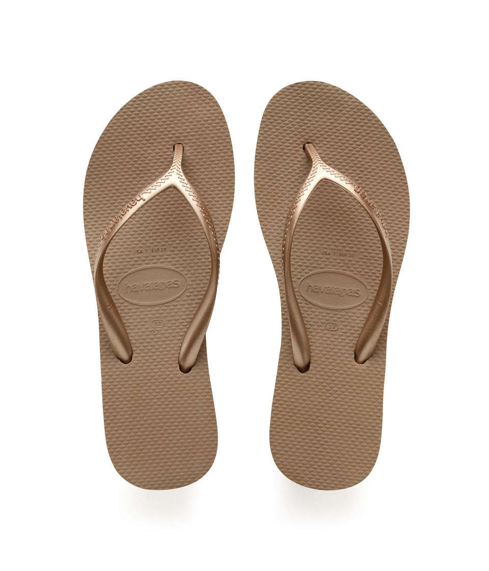 Havaianas - High Light Flip Flops (Rose Gold) Women's Sandals