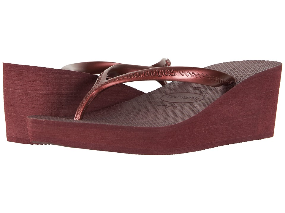 Havaianas - High Fashion Flip-Flops (Grape Wine) Women's Sandals