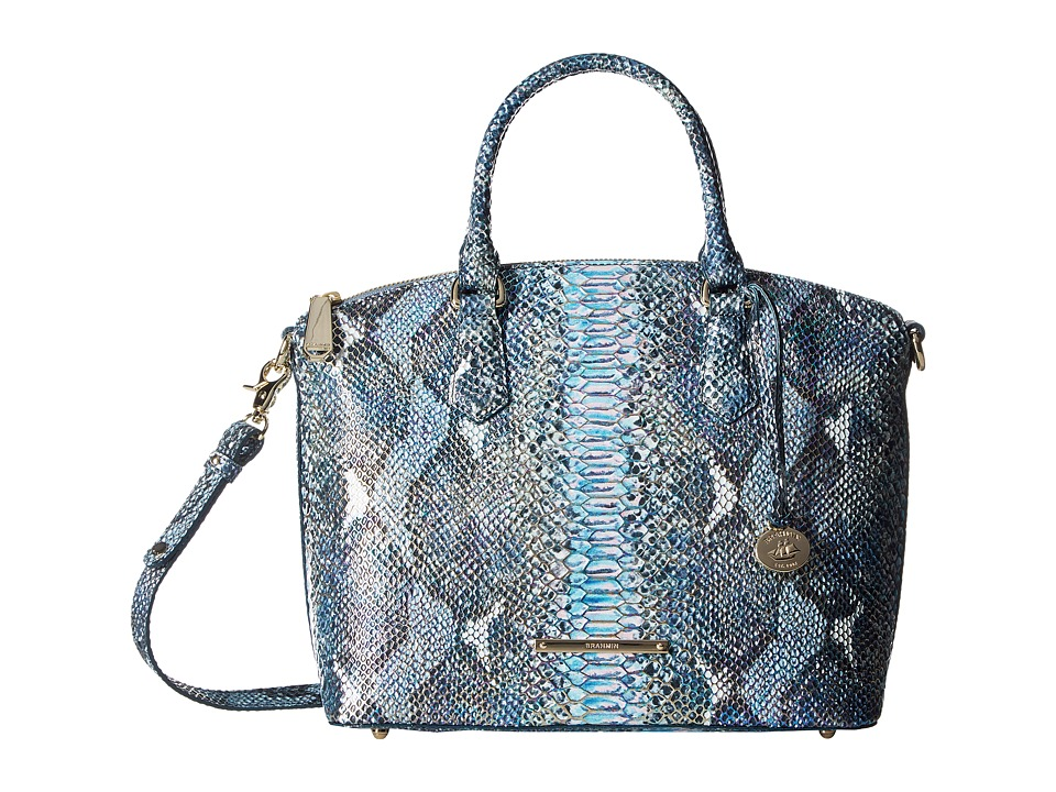 Brahmin - Duxbury Satchel (Marine) Satchel Handbags