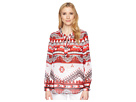 Tribal Georgette Long Sleeve Blouse with Back Gather Detail