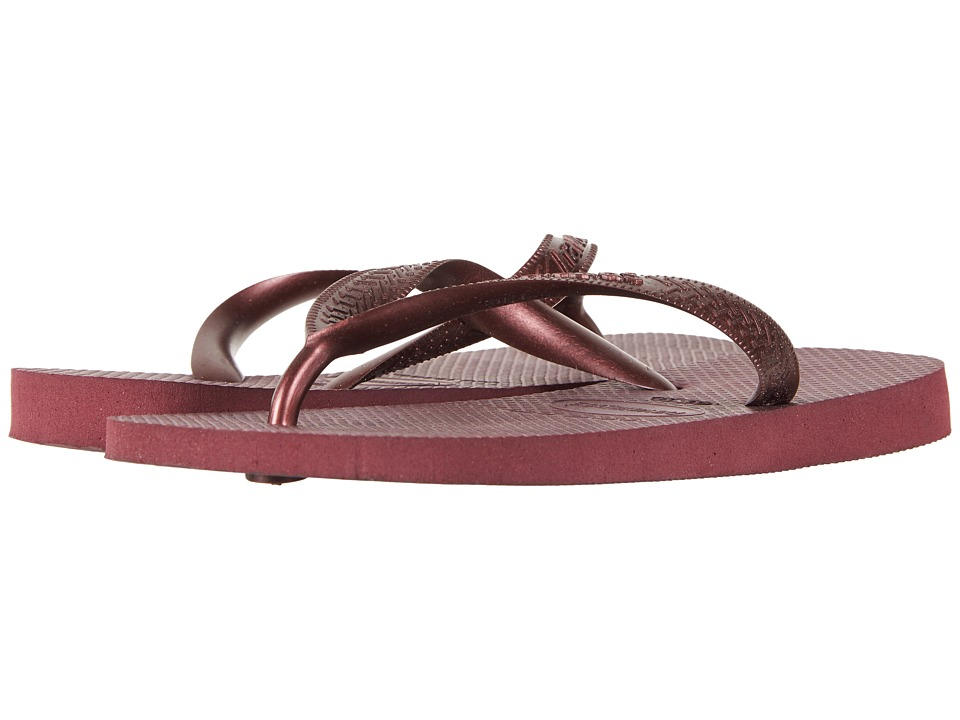 Havaianas - Top Tiras Flip-Flops (Grape Wine) Women's Sandals