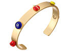 Tory Burch Crazy Charms Double-Wrap Bracelet