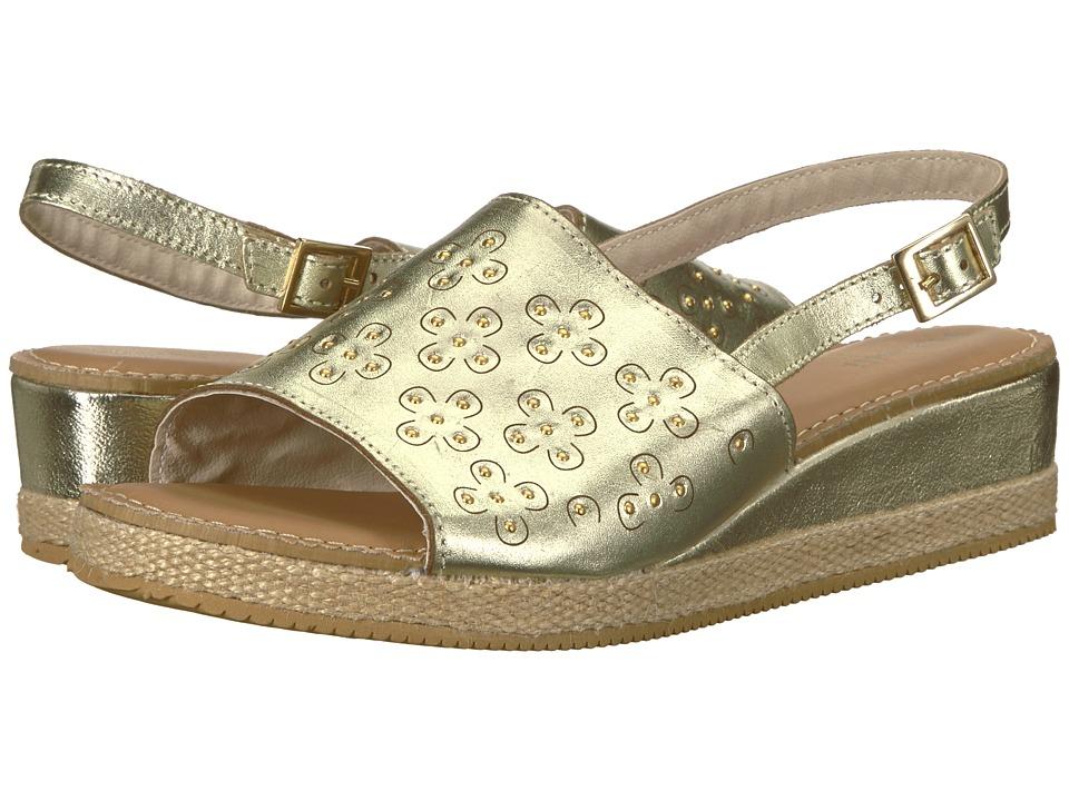 Pampili - 176019 (Little Kid/Big Kid) (Gold) Girls Shoes