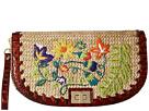 Brahmin Sandrine Straw Clutch