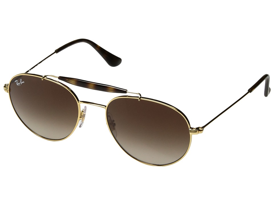 Ray-Ban Junior RJ9542S 50 mm (Youth) (Gold/Brown Gradient) Fashion Sunglasses