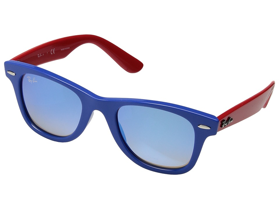 Ray-Ban Junior RJ9066S 47 mm (Youth) (Blue/Blue Gradient Mirror) Fashion Sunglasses