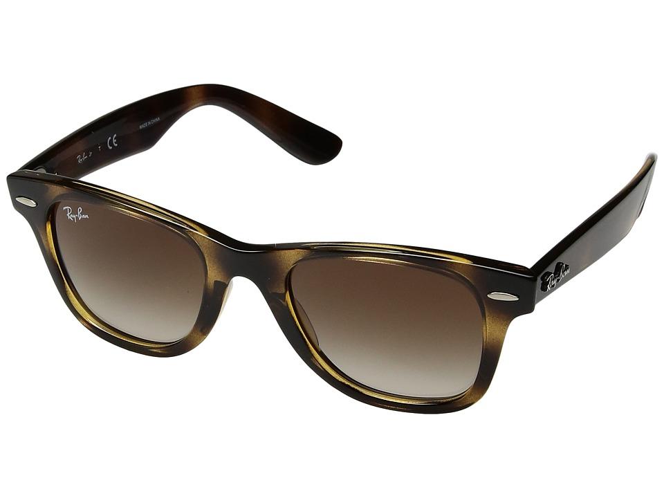 Ray-Ban Junior RJ9066S 47 mm (Youth) (Havana/Brown Gradient) Fashion Sunglasses