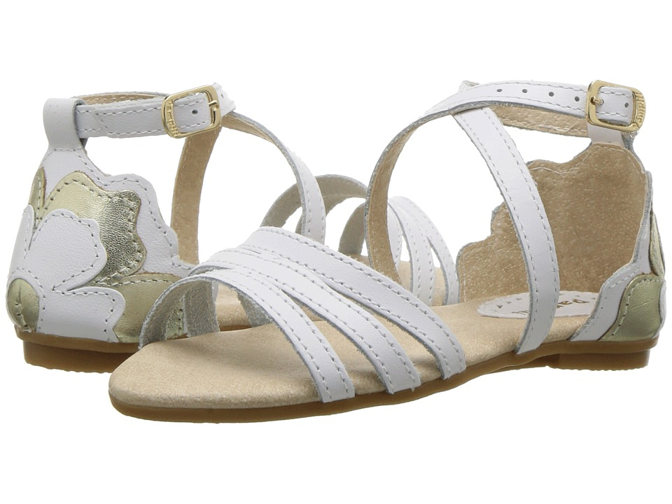 Pampili - 206119 (Toddler/Little Kid) (White) Girls Shoes
