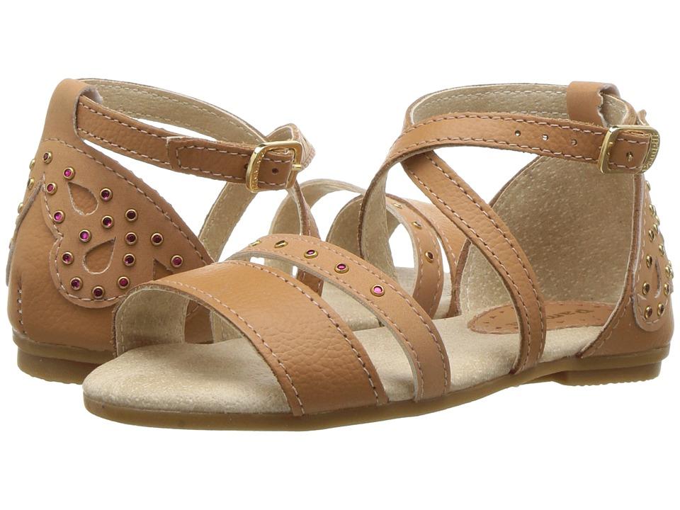 Pampili - 206118 (Toddler/Little Kid) (Tan) Girls Shoes