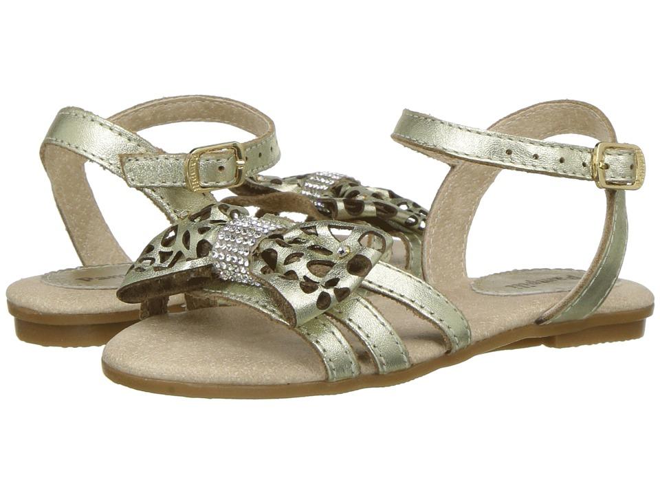 Pampili - 206120 (Toddler/Little Kid) (Gold) Girls Shoes