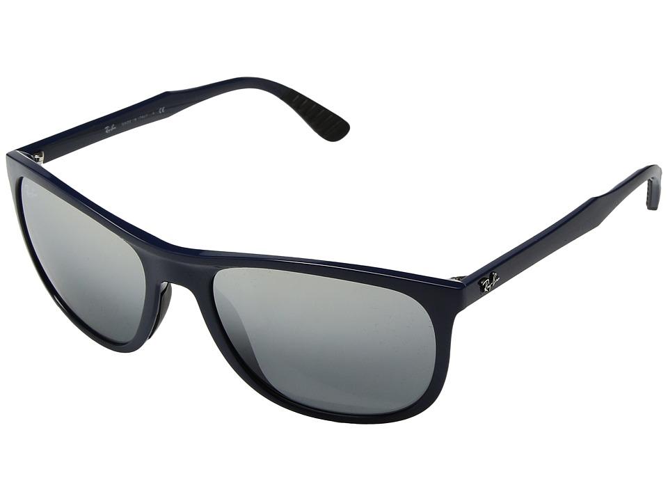 Ray-Ban RB4291 58mm (Blue/Grey Mirror Gradient) Fashion Sunglasses