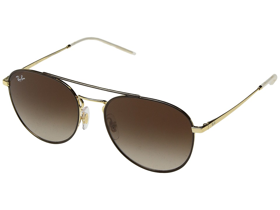 Ray-Ban RB3589 55mm (Brown/Brown Gradient) Fashion Sunglasses