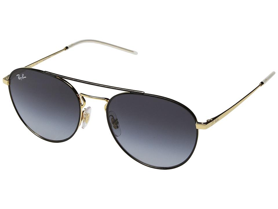 Ray-Ban RB3589 55mm (Black/Grey Gradient) Fashion Sunglasses