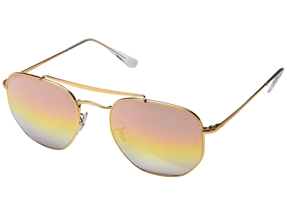Ray-Ban RB3648 Marshall 54mm (Light Bronze/Pink Gradient ...