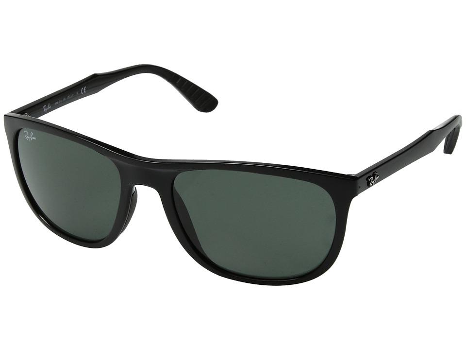 Ray-Ban RB4291 58mm (Black/Green Classic) Fashion Sunglasses