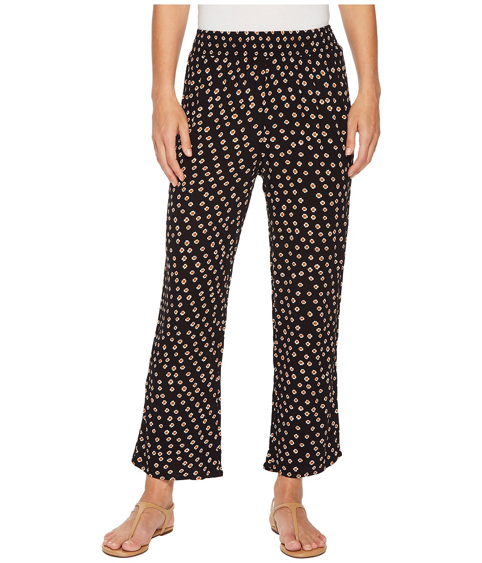 Amuse Society - Sunset Stroll Pants (Black) Womens Casual Pants