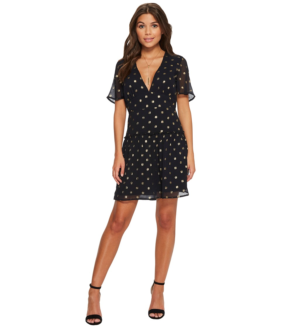 Amuse Society Midnight Love Dress (Black) Women