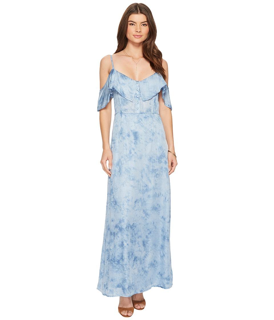 Amuse Society Lost Paradise Dress (Indy Blue) Women