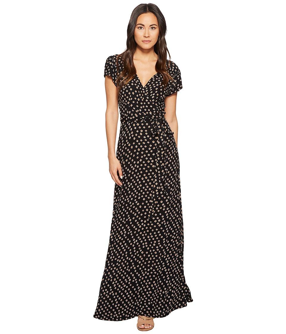 Amuse Society - Beachscape Dress (Black) Women's Dress