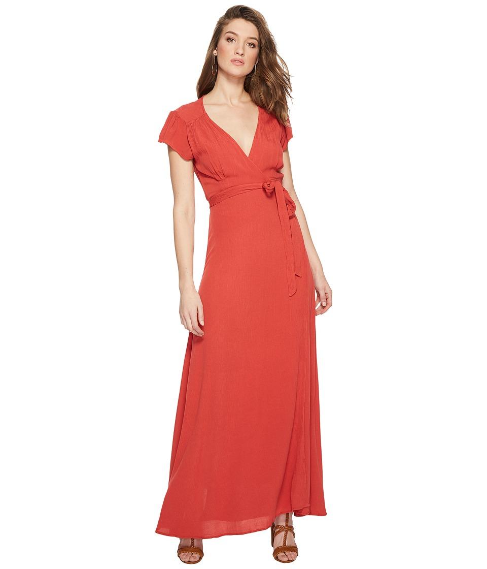 Amuse Society Beachscape Dress (Red) Women