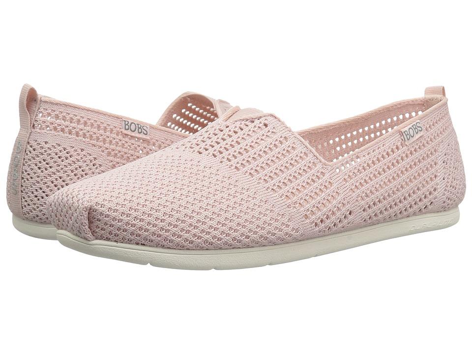 BOBS from SKECHERS Plush Lite - Peek (Light Pink) Slip-On Shoes