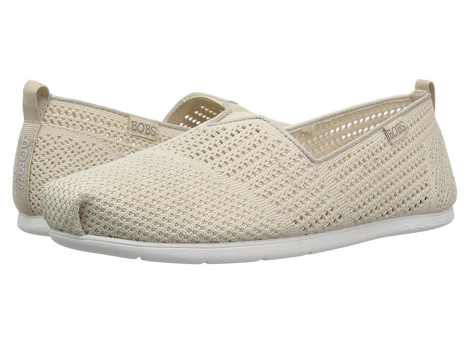 BOBS from SKECHERS Plush Lite - Peek (Natural) Slip-On Shoes