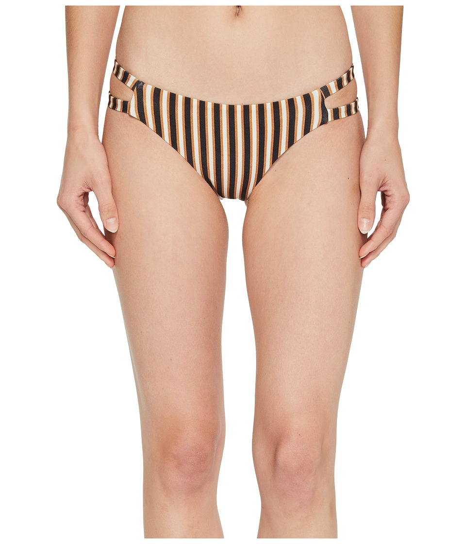 Amuse Society - Elise Skimpy Bottom (Bronze) Womens Swimwear