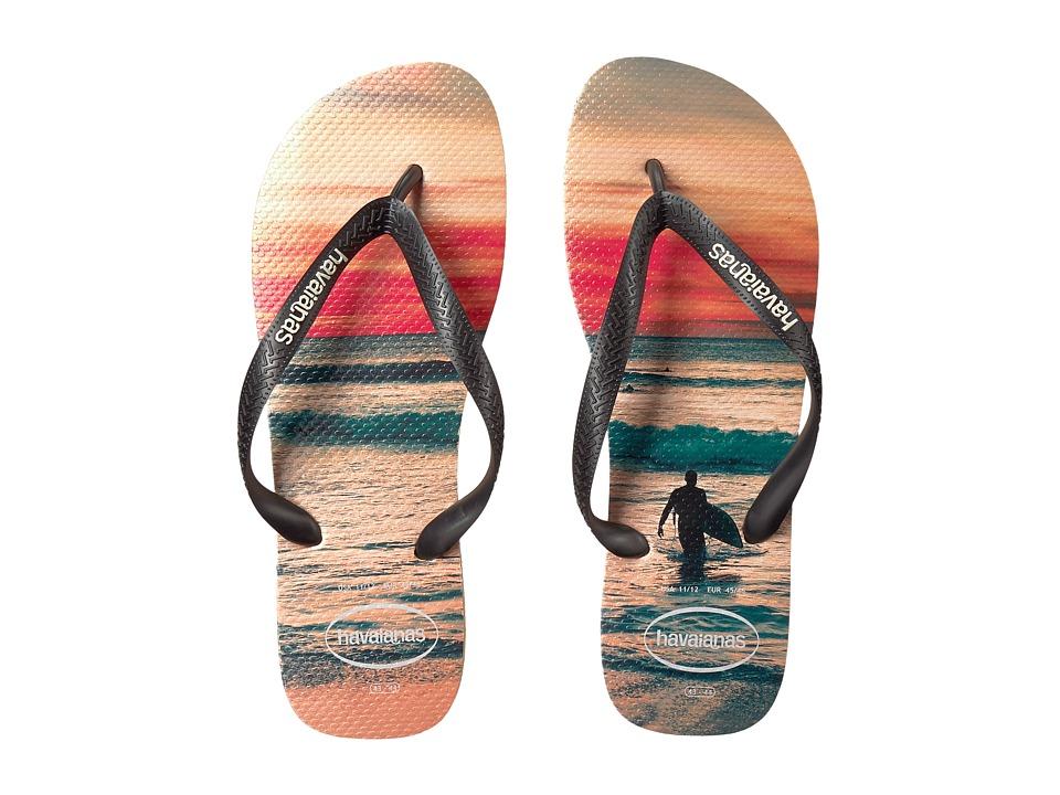 Havaianas - Hype Flip Flops (Ivory) Men's Sandals