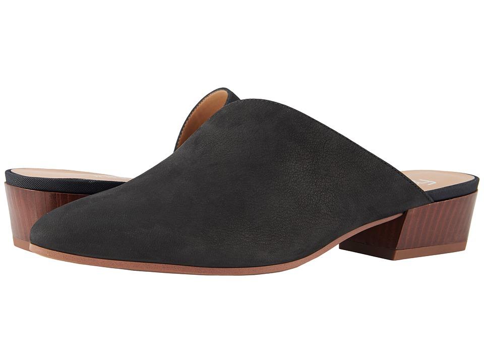 Franco Sarto - Anne (Black) Womens Clog/Mule Shoes