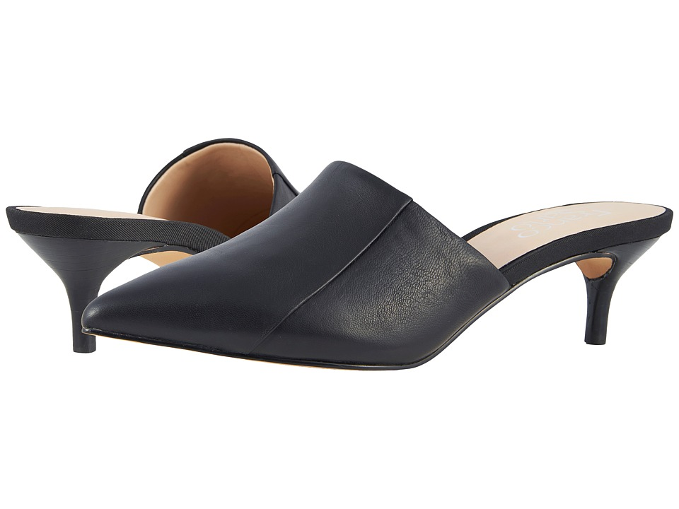 Franco Sarto - Doxie (Black) Womens 1-2 inch heel Shoes