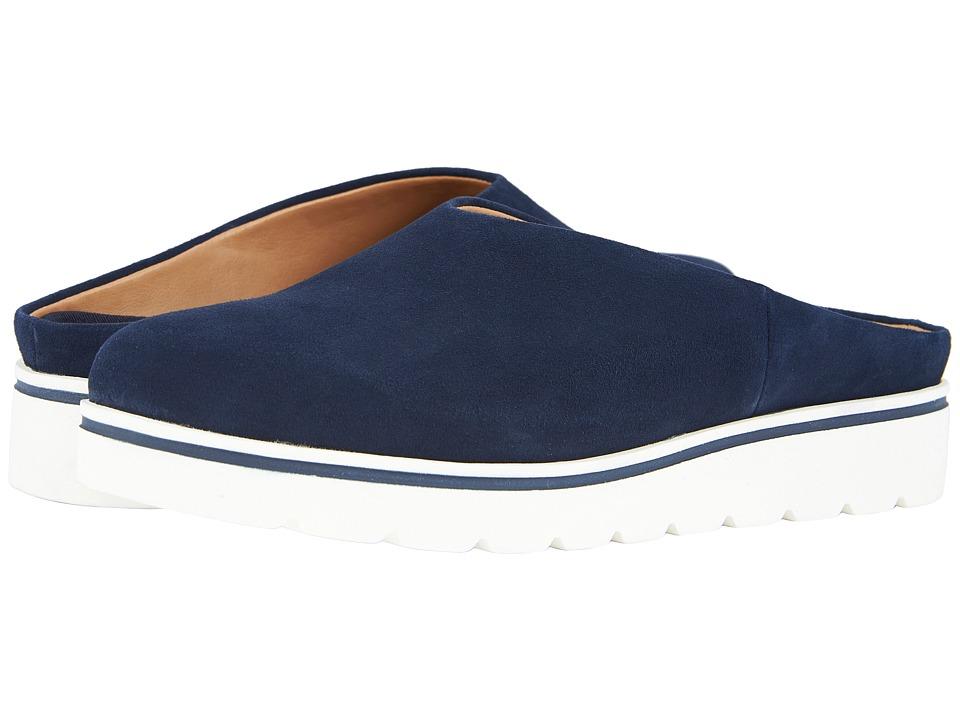 Franco Sarto - Kaine (Navy) Womens Clog/Mule Shoes